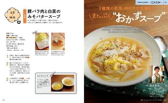 """2種類の野菜・肉だけで大満足!まんぷく""""おかずスープ"""""""