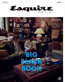 Esquire The Big Black Book WINTER 2019 COVER