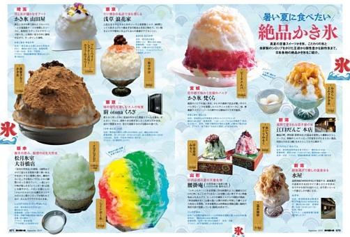 column 暑い夏に食べたい絶品かき氷