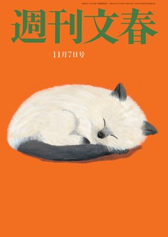 週刊文春 11月7日号