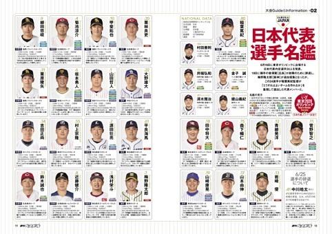大会Guide #02 日本代表選手名鑑