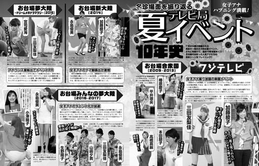 テレビ局夏イベント10年史
