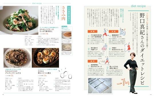 1か月で-7kgを実現した痩せ習慣を公開! 野口真紀さんのダイエットレシピ