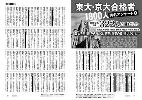 東大・京大合格者1800人実名アンケート(1)