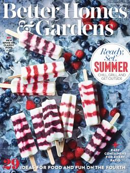 Better Homes & Gardens July 1, 2021