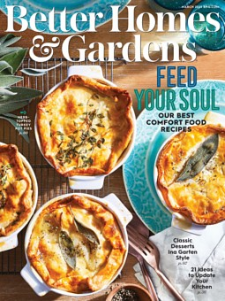 Better Homes & Gardens March 1,2021