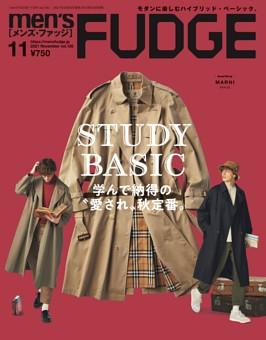 men's FUDGE 2021年11月号 Vol.136