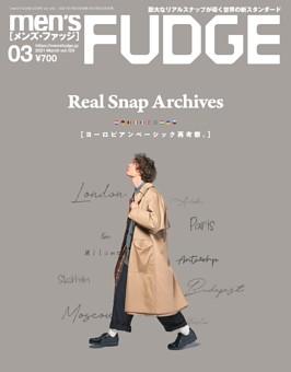 men's FUDGE 2021年3月号 Vol.129