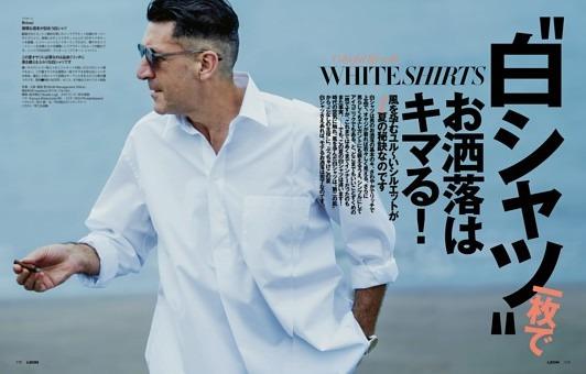 """★第2特集★""""白シャツ""""一枚でお洒落はキマる!"""
