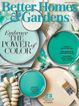 Better Homes & Gardens April 1, 2021
