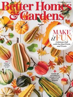 Better Homes & Gardens October 1, 2021