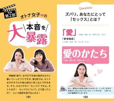 [特集第2部]オトナ女子の本音を大暴露!