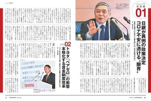 ニュース最前線01/日銀が異例の政策決定 コロナ不安に透ける限界