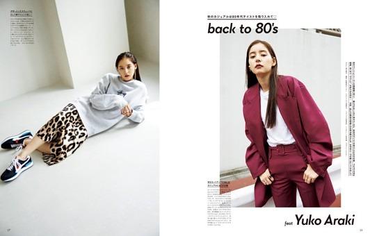 back to 80's feat Yuko Araki