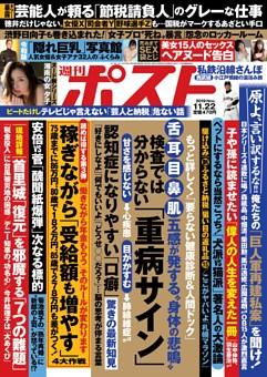 週刊ポスト 2019年11月22日号