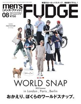 men's FUDGE 2021年8月号 Vol.134