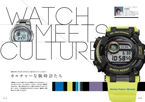 カルチャーな腕時計たち V o l .1 5 スポーツ、ファッション、アート(?)とF R O G M A N