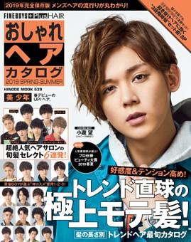 FINEBOYS Plus おしゃれヘアカタログ2019春夏号