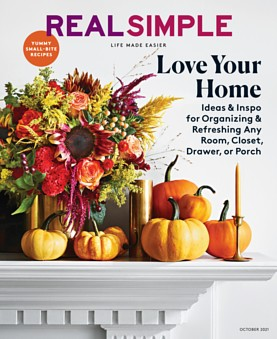 Real Simple October 1, 2021