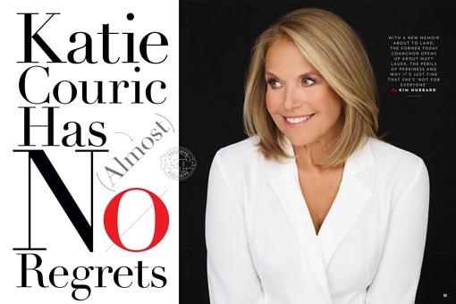 Katie Couric Has No Regrets