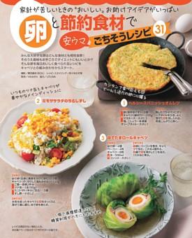 お助けアイデアがいっぱい! 卵と節約食材で安ウマごちそうレシピ31