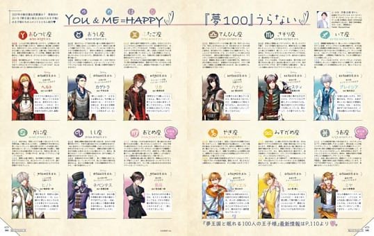 【Special Feature】YOU&ME=HAPPY♡ 夢100うらない