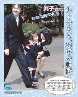 眞子さま(29)ありのまま、29年の軌跡