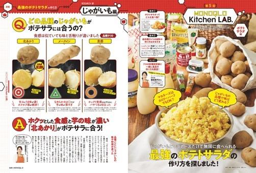 ポテトサラダ徹底研究&しじみ味噌汁20製品比較