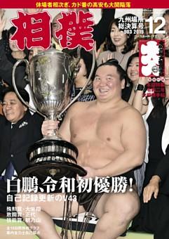 相撲 2019年12月 九州場所総決算号