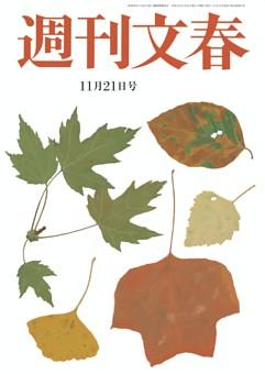 週刊文春 11月21日号