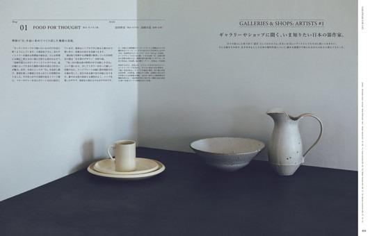 GALLERIES & SHOPS:ARTISTS #1 ギャラリーやショップに聞く、いま知りたい日本の器作家。