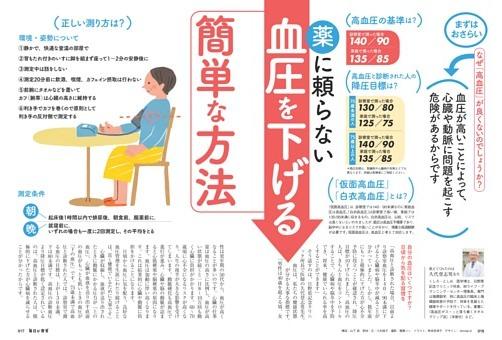 特集1 薬に頼らない血圧を下げる簡単な方法